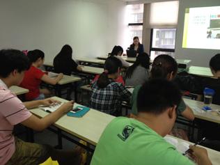 教师资格证培训上课现场